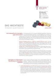 Januar - Die Steuerkanzlei Heinz Aigner