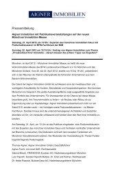 Diesen Artikel lesen - Aigner Immobilien GmbH