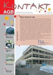 6612 zeitschrift kontakt f, page 1-6 ... - AGB Bautechnik