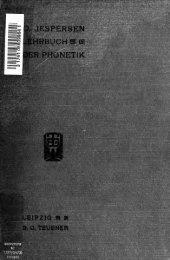 Lehrbuch der Phonetik;