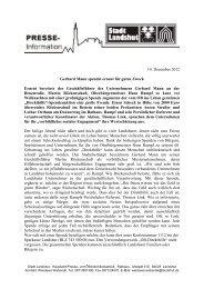 PDF: Pressemitteilung zur Spendenübergabe
