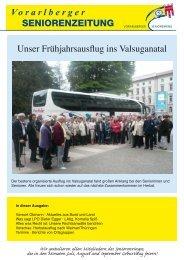 Ausgabe Juni 2010 - Vorarlberger Seniorenring