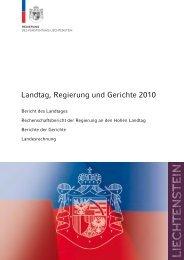 Landesrechnung - Regierung des Fürstentums Liechtenstein
