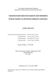Analytical and numerical analysis and simulation of heat transfer in ...