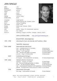 Jan Single – CV 2011.pdf - Jan Single - Theaterblogs