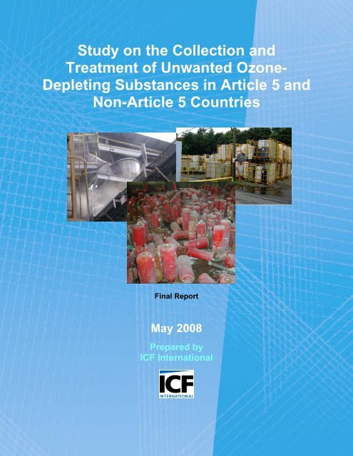 Study on the Collection and Treatment of Unwanted Ozone