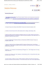 Seite 1 von 6 Dekubitus Referenzen [evidence.de] Evidenzbasierte ...