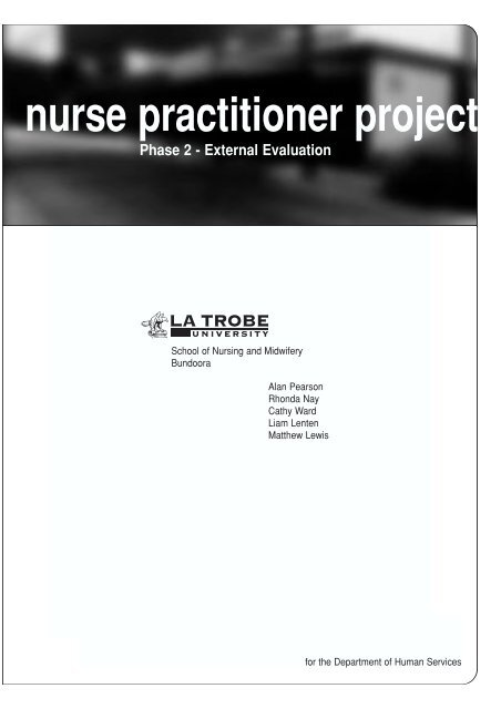 Nurse Practitioner Project - Department of Health