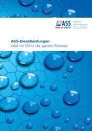Ass-Zentrale: 0844 767 277 www ... - ASS Aqua Sec Service