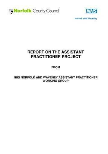 nhs it project report National mobile health worker project: final report 7 introduction project origins effective and efficient community services are the foundation of healthcare in the nhs.
