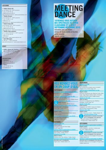 MEETING DANCE - avdc: association vaudoise de danse ...