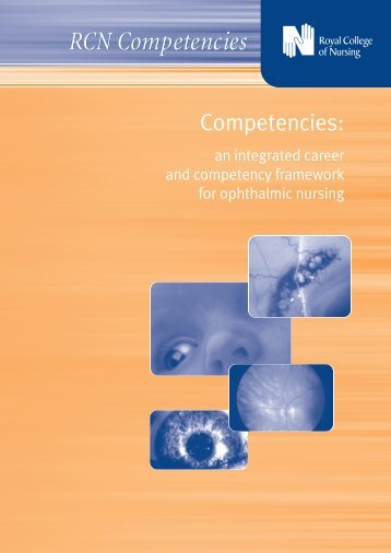 an integrated career and competency framework for ... - RCN