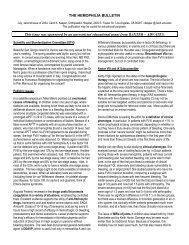 July, second issue of 2004 - Carol Kasper, MD