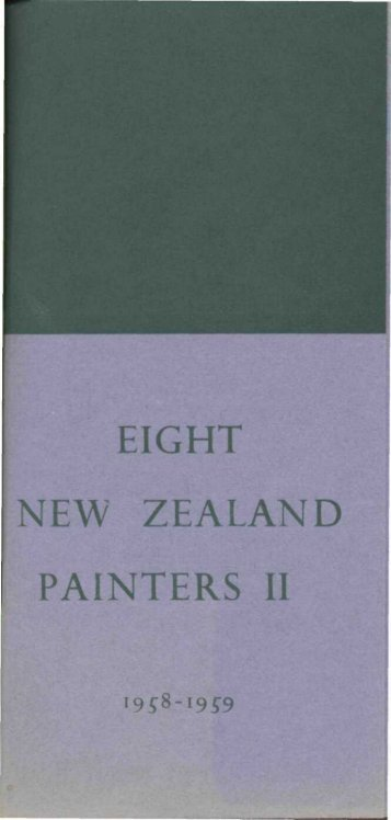 EIGHT NEW ZEALAND PAINTERS II - Auckland Art Gallery