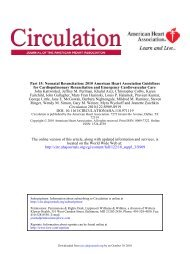 Part 15: Neonatal Resuscitation 2010 American - New Born Baby
