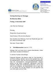 Rotary International Vortrag Henning von Vieregge RC München ...