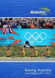 Annual Report 2011–2012 - Rowing Australia