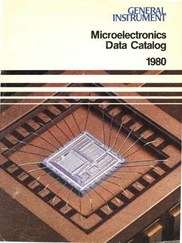 Microelectronics Data Catalog - The UK Mirror Service