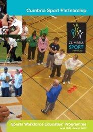 Cumbria Sport Partnership - Barrow Borough Sports Council