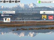 Skokomish Estuary Restoration Phase 2: Nalley Island Dike