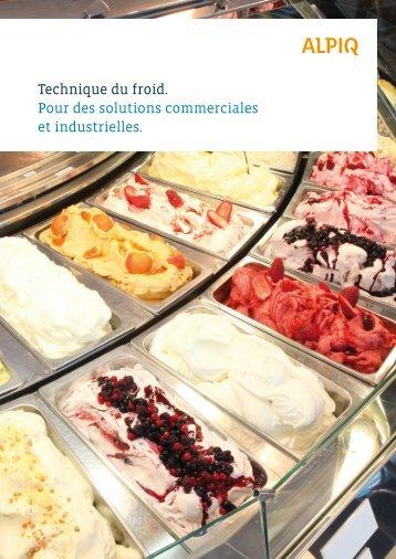 Technique du froid: brochure PDF - Alpiq Intec Schweiz