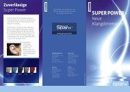 Sparx consumer brochure  - GN ReSound GmbH