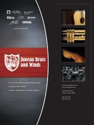 2010 RCP CATALOG BAND SECTION.indd - Juneau Brass and Winds