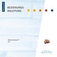 Azure AZ10/20 user guide - GN ReSound