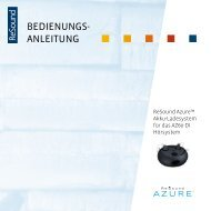 Azure charger user guide - GN ReSound
