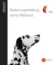 Dot2 user guide - GN ReSound GmbH