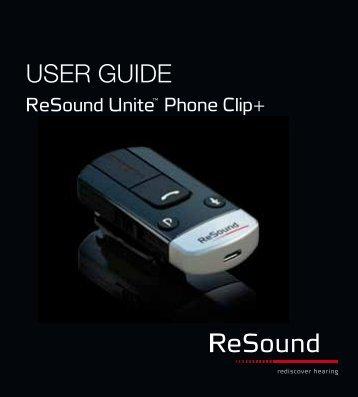 user guide gn resound rh yumpu com ReSound Johnson University ReSound Hearing Aid Accessories