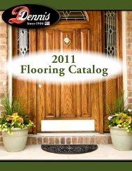 2011 Flooring Catalog - WJ Dennis
