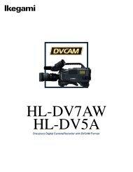 HL-DV7AW - Ikegami