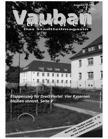 Ausgabe 4/2002 - Vauban
