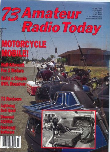 73 Amateur Radio Today - Free and Open Source Software