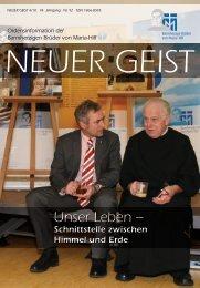 Unser Leben – - Barmherzige Brüder Trier e. V.