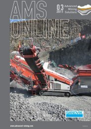 AMS-Online Ausgabe 03/2011 - Advanced Mining
