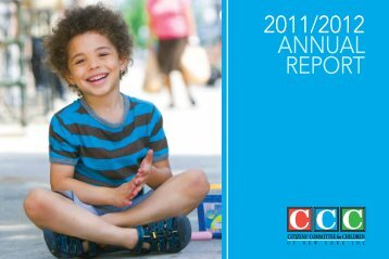 2011/2012 annual report - Citizens' Committee for Children of New ...