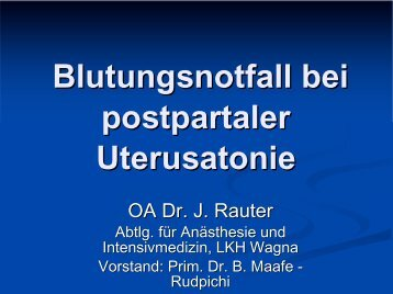 Blutungsnotfall bei postpartaler Uterusatonie PDF-Datei (ca. 148