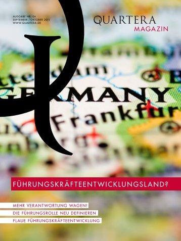 Quartera Magazin, Ausgabe Nr. 4, Septmeber ... - SWOP. Exchange