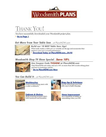 Www Woodsmithshop Com Magazines