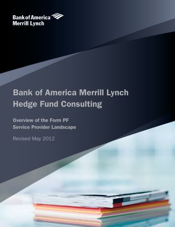 Bank of America Merrill Lynch Hedge Fund Consulting - COOConnect