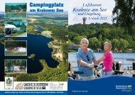 Urlaubskatalog 2013 zum Durchblättern - Krakow am See