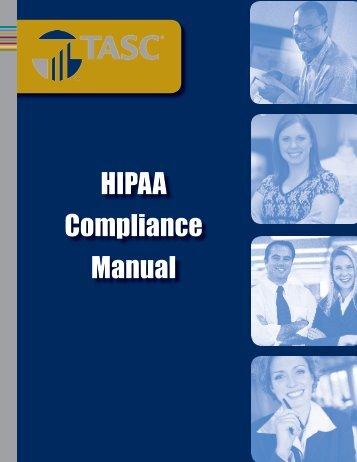 HIPAA Compliance Manual - TASC