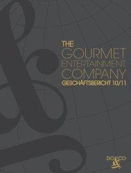 Geschäftsbericht 2010/2011 (3 MB) - Do & Co