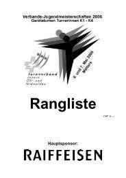 Rangliste - STV Ettiswil