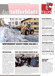 Telferblatt 203 vom 02.03.12 - Marktgemeinde Telfs