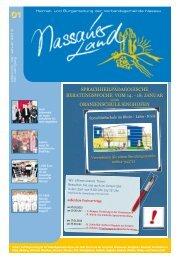 Nassauer Land 01-2013 - Verbandsgemeinde Nassau