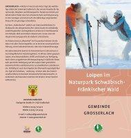 GEMEINDE GROSSERLACH - Naturpark Schwäbisch Fränkischer ...