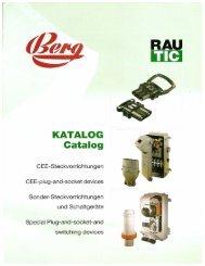 Page 1 JI! ( KATALOG Catalog CEE-Steckvorrichtungen CEE-plug ...